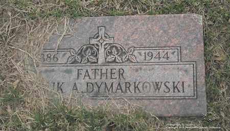 DYMARKOWSKI, FRANK A. - Lucas County, Ohio | FRANK A. DYMARKOWSKI - Ohio Gravestone Photos