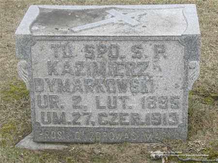 DYMARKOWSKI, KAZIMIERZ - Lucas County, Ohio | KAZIMIERZ DYMARKOWSKI - Ohio Gravestone Photos