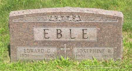 EBLE, JOSEPHINE R. - Lucas County, Ohio | JOSEPHINE R. EBLE - Ohio Gravestone Photos