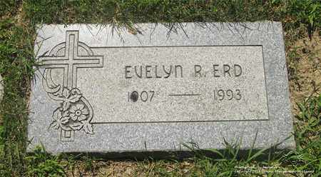 ERD, EVELYN R. - Lucas County, Ohio | EVELYN R. ERD - Ohio Gravestone Photos