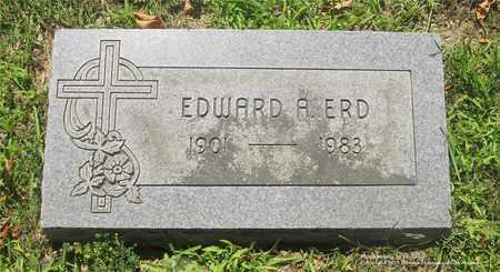 ERD, EDWARD A. - Lucas County, Ohio   EDWARD A. ERD - Ohio Gravestone Photos