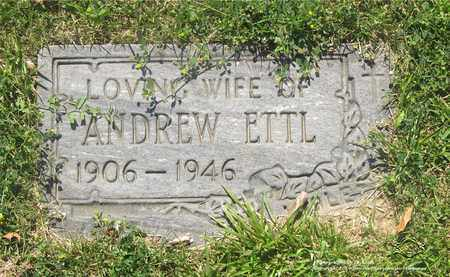 ETTL, VIOLET - Lucas County, Ohio | VIOLET ETTL - Ohio Gravestone Photos