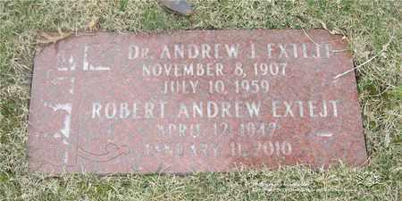 EXTEJT, ANDREW J. - Lucas County, Ohio | ANDREW J. EXTEJT - Ohio Gravestone Photos