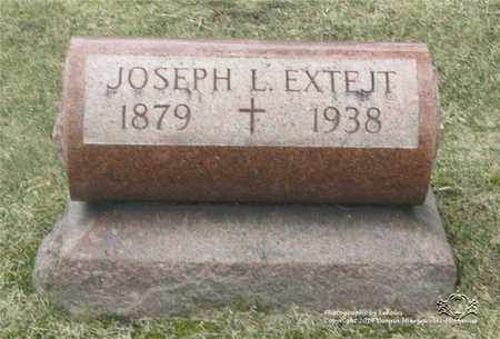 EXTEJT, JOSEPH L. - Lucas County, Ohio   JOSEPH L. EXTEJT - Ohio Gravestone Photos