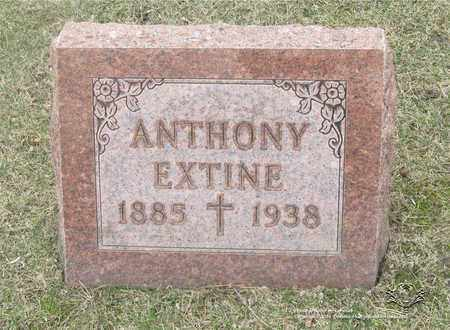 EXTINE, ANTHONY - Lucas County, Ohio | ANTHONY EXTINE - Ohio Gravestone Photos