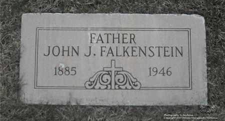 FALKENSTEIN, JOHN J. - Lucas County, Ohio   JOHN J. FALKENSTEIN - Ohio Gravestone Photos