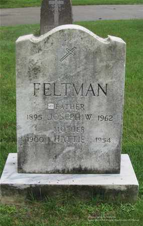 FELTMAN, HATTIE - Lucas County, Ohio | HATTIE FELTMAN - Ohio Gravestone Photos