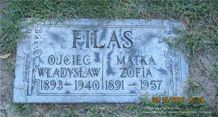 FILAS, WLADYSLAW - Lucas County, Ohio | WLADYSLAW FILAS - Ohio Gravestone Photos