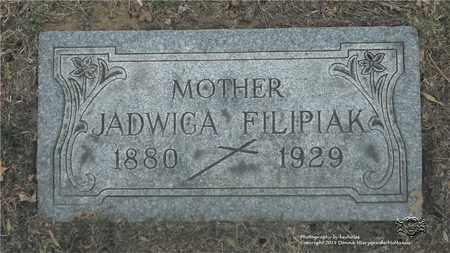 RACZKOWIAK FILIPIAK, JADWIGA - Lucas County, Ohio | JADWIGA RACZKOWIAK FILIPIAK - Ohio Gravestone Photos