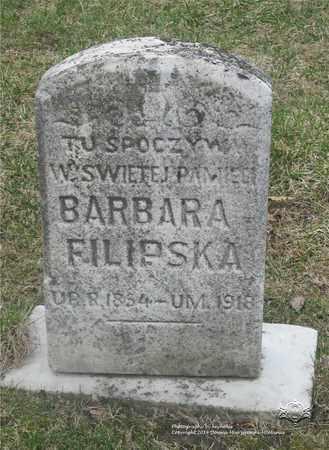 FILIPSKA, BARBARA - Lucas County, Ohio | BARBARA FILIPSKA - Ohio Gravestone Photos