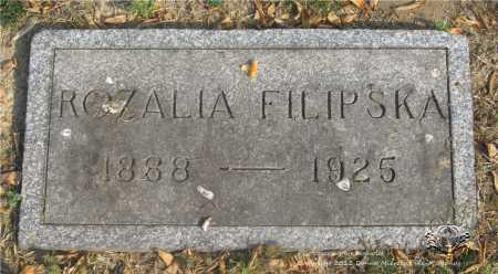 FILIPSKA, ROZALIA - Lucas County, Ohio | ROZALIA FILIPSKA - Ohio Gravestone Photos