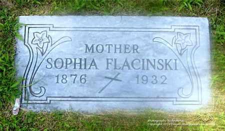 ROZANSKI FLACINSKI, SOPHIA - Lucas County, Ohio | SOPHIA ROZANSKI FLACINSKI - Ohio Gravestone Photos