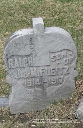 FLEITZ, RALPH - Lucas County, Ohio   RALPH FLEITZ - Ohio Gravestone Photos