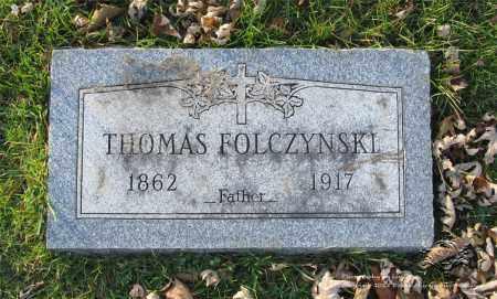 FOLCZYNSKI, THOMAS - Lucas County, Ohio | THOMAS FOLCZYNSKI - Ohio Gravestone Photos