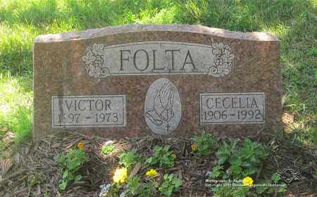 FOLTA, VICTOR - Lucas County, Ohio | VICTOR FOLTA - Ohio Gravestone Photos