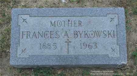 BYKOWSKI, FRANCES A. - Lucas County, Ohio | FRANCES A. BYKOWSKI - Ohio Gravestone Photos