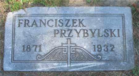 PRZYBYLSKI, FRANCISZEK - Lucas County, Ohio | FRANCISZEK PRZYBYLSKI - Ohio Gravestone Photos