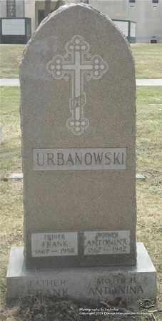 URBANOWSKI, ANTONINA - Lucas County, Ohio | ANTONINA URBANOWSKI - Ohio Gravestone Photos