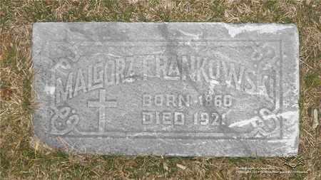 FRANKOWSKI, MALGORZATA - Lucas County, Ohio | MALGORZATA FRANKOWSKI - Ohio Gravestone Photos