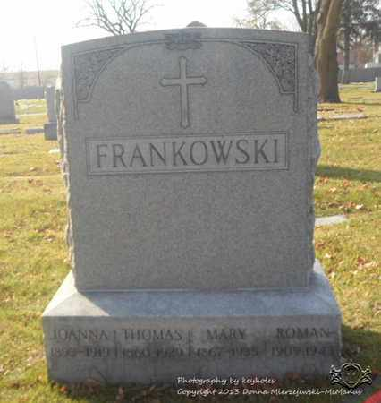KUHN FRANKOWSKI, MARY - Lucas County, Ohio | MARY KUHN FRANKOWSKI - Ohio Gravestone Photos