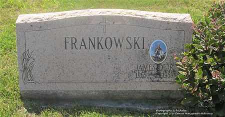 FRANKOWSKI, JAMES D. - Lucas County, Ohio | JAMES D. FRANKOWSKI - Ohio Gravestone Photos