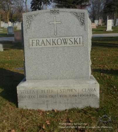 FRANKOWSKI, STELLA - Lucas County, Ohio | STELLA FRANKOWSKI - Ohio Gravestone Photos