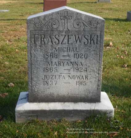 NOWAK FRASZEWSKI, MARYANNA - Lucas County, Ohio | MARYANNA NOWAK FRASZEWSKI - Ohio Gravestone Photos