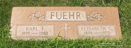 FUEHR, ELISABETH - Lucas County, Ohio | ELISABETH FUEHR - Ohio Gravestone Photos