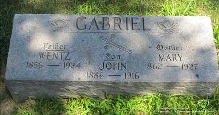 GABRIEL, MARY - Lucas County, Ohio | MARY GABRIEL - Ohio Gravestone Photos
