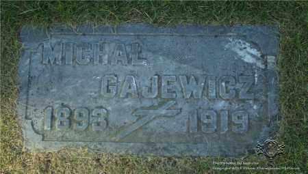GAJEWICZ, MICHAL - Lucas County, Ohio | MICHAL GAJEWICZ - Ohio Gravestone Photos