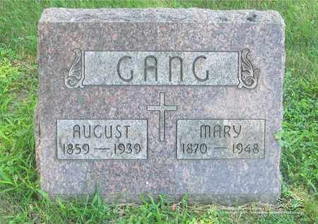 GANG, MARY - Lucas County, Ohio | MARY GANG - Ohio Gravestone Photos