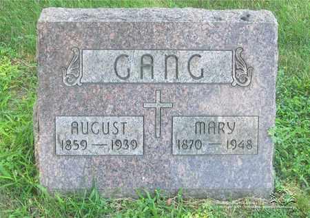 MUELLER GANG, MARY - Lucas County, Ohio | MARY MUELLER GANG - Ohio Gravestone Photos