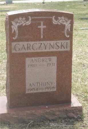 GARCZYNSKI, ANTHONY - Lucas County, Ohio | ANTHONY GARCZYNSKI - Ohio Gravestone Photos
