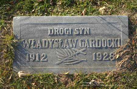 GARDOCKI, WLADYSLAW - Lucas County, Ohio | WLADYSLAW GARDOCKI - Ohio Gravestone Photos