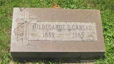 GAREAU, HILDEGARDE E. - Lucas County, Ohio | HILDEGARDE E. GAREAU - Ohio Gravestone Photos