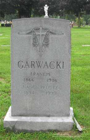 GARWACKI PFOUTZ, NANCY - Lucas County, Ohio | NANCY GARWACKI PFOUTZ - Ohio Gravestone Photos