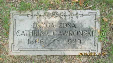 GAWRONSKI, CATHRINE - Lucas County, Ohio | CATHRINE GAWRONSKI - Ohio Gravestone Photos