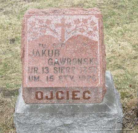 GAWRONSKI, JAKUB - Lucas County, Ohio | JAKUB GAWRONSKI - Ohio Gravestone Photos