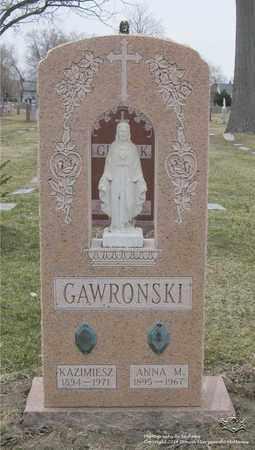GAWRONSKI, ANNA M. - Lucas County, Ohio | ANNA M. GAWRONSKI - Ohio Gravestone Photos