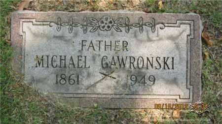 GAWRONSKI, MICHAEL - Lucas County, Ohio | MICHAEL GAWRONSKI - Ohio Gravestone Photos