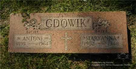 GDOWIK, ANTONI - Lucas County, Ohio | ANTONI GDOWIK - Ohio Gravestone Photos