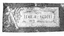 FURRY GEDERT, LEAH R. - Lucas County, Ohio | LEAH R. FURRY GEDERT - Ohio Gravestone Photos