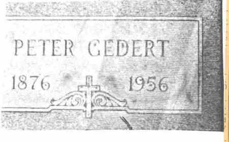GEDERT, PETER J. - Lucas County, Ohio   PETER J. GEDERT - Ohio Gravestone Photos