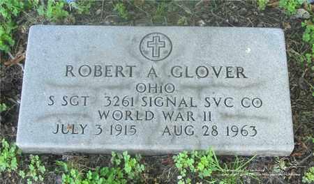 GLOVER, ROBERT A. - Lucas County, Ohio | ROBERT A. GLOVER - Ohio Gravestone Photos