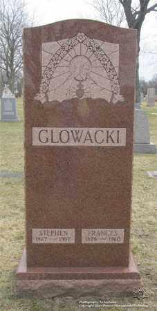 GLOWACKI, FRANCES - Lucas County, Ohio | FRANCES GLOWACKI - Ohio Gravestone Photos