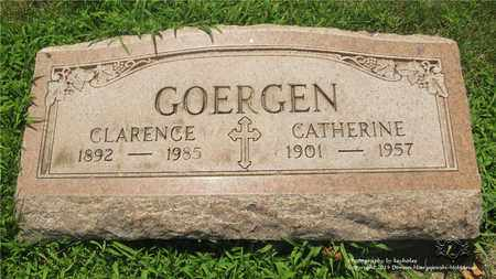 GOERGEN, CATHERINE - Lucas County, Ohio | CATHERINE GOERGEN - Ohio Gravestone Photos