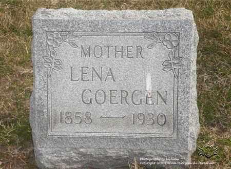 GOERGEN, LENA - Lucas County, Ohio | LENA GOERGEN - Ohio Gravestone Photos
