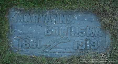 KOWALSKA GOLINSKA, MARYANNA - Lucas County, Ohio | MARYANNA KOWALSKA GOLINSKA - Ohio Gravestone Photos