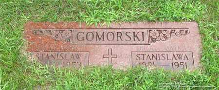 GOMORSKI, STANISLAWA - Lucas County, Ohio | STANISLAWA GOMORSKI - Ohio Gravestone Photos