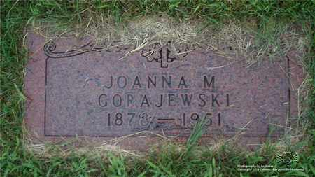GORAJEWSKI, JOANNA M. - Lucas County, Ohio   JOANNA M. GORAJEWSKI - Ohio Gravestone Photos